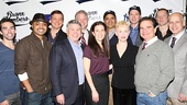 The cast, playwright and producers of Bronx Bombers hit it out of the park. See the play at Circle in the Square Theatre beginning January 10.