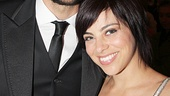 First Date faves Zachary Levi and Krysta Rodriguez catch up at the gala.