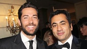 Screen pals Zachary Levi & Kal Penn are dressed to the nines at the Pierre Hotel.