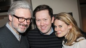 John Ellison Conlee and his wife, The Glass Menagerie star Celia Keenan-Bolger rally around her former Spelling Bee co-star, Little Me player Stanley Bahorek.