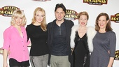 Bullets Over Broadway - Meet and Greet - OP - Heléne Yorke - Betsy Wolfe - Zach Braff - Marin Mazzie - Karen Ziemba
