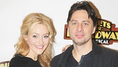 Betsy Wolfe and Zach Braff play a couple in the new musical.