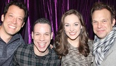 John Tartaglia, Robin De Jesus, Laura Osnes and Norbert Leo Butz had a blast at Disaster!