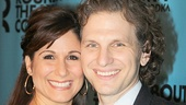 Broadway husband-and-wife duo Stephanie J. Block and Sebastian Arcelus look adorable on the red carpet.