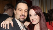 Phantom reunion! Ramin Karimloo and Sierra Boggess take a phabulous photo.