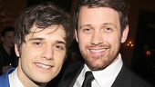 Andy Mientus is thrilled to have his boyfriend, Broadway alum Michael Arden, by his side on opening night.