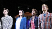 The cast of If/Then.