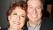 Guys and Dolls player Judy Kaye enjoys the starry party with her husband, actor David Green.