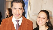 Peter and the Starcatcher alum Matthew Saldivar and his girlfriend Sarna Lapine walk the red carpet.