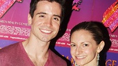 The Book of Mormon alum Matt Doyle and Rock of Ages vet Lauren Molina.