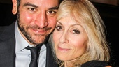 Josh Radnor catches up with Judith Light after appearing in Company together at UCLA's Freud Playhouse.