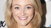 Betsy Wolfe, who is gearing up to star in Bullets Over Broadway, looks glamorous on opening night.