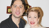Bullets Over Broadway - Meet and Greet - OP - Zach Braff - Marin Mazzie