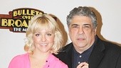 Bullets Over Broadway - Meet and Greet - OP - Heléne Yorke - Vincent Pastore