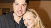 Bullets Over Broadway - Meet and Greet - OP - Zach Braff - Susan Stroman