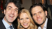 Composer Jason Robert Brown takes a parting shot with stars Steven Pasquale and Kelli O'Hara. See The Bridges of Madison County at the Schoenfeld Theatre!