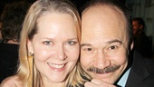 Broadway power couple Rebecca Luker and Danny Burstein take an adorable photo.