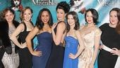 Les Miserables - Opening - Op - 3/14 -   Christianne Tisdale - Betsy Morgan - Erin Clemons - Natalie Charle Ellis - TK - Rachel Rincione