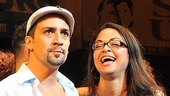 In the Heights Closing Night  Lin-Manuel Miranda  Karen Olivo