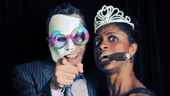Memphis stars Adam Pascal and Montego Glover definitely work hard, but they play even harder.