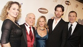 Broadway mash-up! Cady Huffman, Eddie Korbich, Paige Price, James Barbour and Marc Kudisch gather on the red carpet.