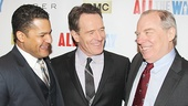 All the Way stars Brandon J. Dirden, Bryan Cranston and Michael McKean share a laugh on the red carpet.