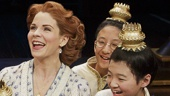 Kelli O'Hara as Anna & the cast of The King and I