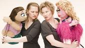 Kate Monster and Anika Larsen may look innocent, but Barnhart and Lucy the Slut had better not mess with their man!