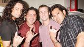 Mets and Yankees at Rock of Ages - Constantine Maroulis - Francisco Cervelli - David Robertson - Johnny Damon
