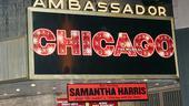 Samantha Harris Debut in Chicago - marquee