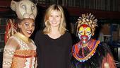 Heidi Klum at Shrek - Ta'Rea Campbell - Tshidi Manye