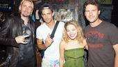 Nickelback at Rock of Ages - Chad Kroeger - Ryan Peake - James Carpinello - Savannah Wise