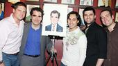 Brian d'Arcy James at Sardi's – Christopher Sieber - Brian d'Arcy James – Ryan Duncan - Ben Crawford - Chris Hoch