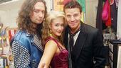 David Boreanaz at Rock of Ages  David Boreanaz  Constantine Maroulis  Ericka Hunter