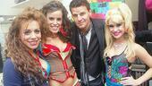 David Boreanaz at Rock of Ages – David Boreanaz – Angel Reed – Katherine Tokarz – Becca Tobin