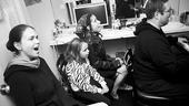 Shrek princess contest winners – Hannah Beatt – Sutton Foster – Laura Laureano – Eric Stern (rehearsal)