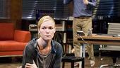 Oleanna - Show Photos - Julia Stiles - Bill Pullman (sitting)