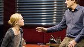 Oleanna - Show Photos - Julia Stiles - Bill Pullman (talking)