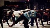 Fela Rehearsal - Stretching