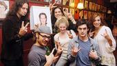 Swenson and Creel at Sardi's – Will Swenson – Constantine Maroulis – Mitchell Jarvis – Lauren Molina – Wesley Taylor – Angel Reed
