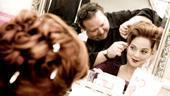 White Christmas photo shoot 2009 – Melissa Errico – wig