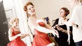 White Christmas photo shoot 2009 – Melissa Errico (makeup)