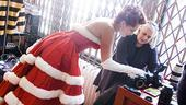 White Christmas photo shoot 2009 – Melissa Errico - Joan Marcus