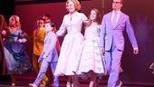 Everything is rosy on opening night, but one quartet gets to be blue: Jake Evan Schwenke, Dee Hoty, Allie Trimm and Bill Irwin, who co-star as the cool-hued MacAfee family.