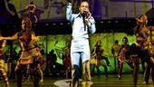 Fela - Show Photos - Sahr Ngaujah (blue suit)