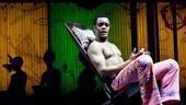 Kevin Mambo as Fela Anikulapo Kuti in Fela!