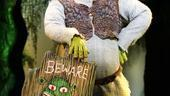 It's a big bright beautiful beginning for Ben Crawford in Shrek.