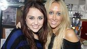 Miley Cyrus at Rock of Ages  Miley Cyrus  mom Tish