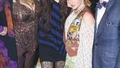Miley Cyrus at Rock of Ages  Michele Mais  Miley Cyrus  Lauren Molina  Tom Lenk