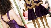 Ragtime shopping – Stephanie Umoh (purple dress)